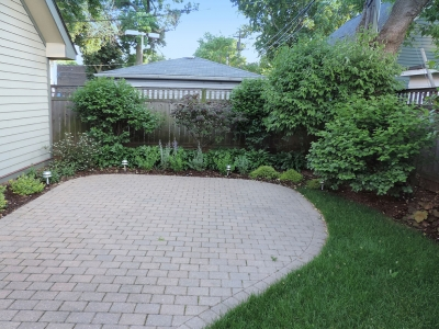 Oak-Park-Backyard-Retreat Landscaping Project