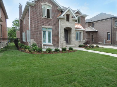 Park Ridge Front and Side Yard Landscaping Project