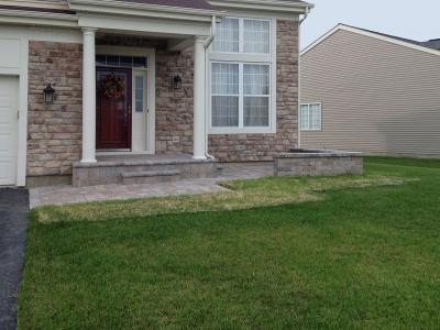 Front Entrance Brick-Patio, Front Door