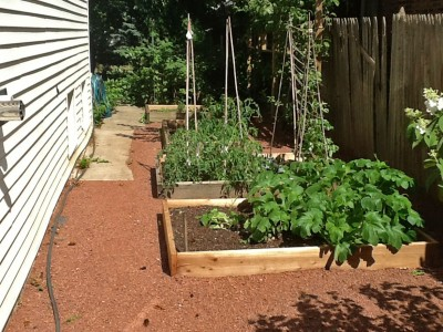 Square Foot Gardening Landscaping Project