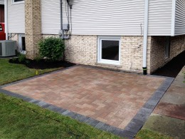 Family Paver Patio in Arlington Heights