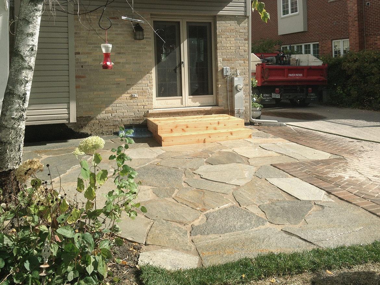 Flagstone And Paver Patio. flagstone paver patio designs paver patio ...