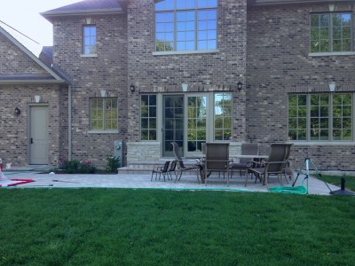 Brussell Block Paver Patio