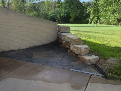 Hardscape Landscaping Project