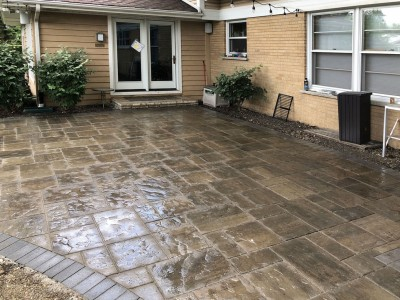 Beacon Hill paver patio by Unilock