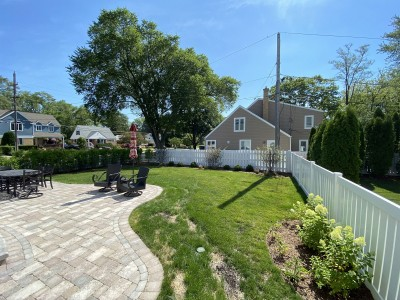 Paver Patio and Landscape Installation