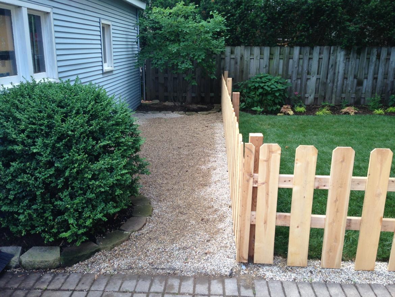 Dog Run - Wrigleyville Landscaping