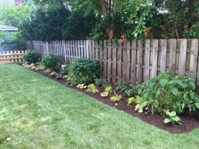 New Flower Bed - Wrigleyville Landscaping, 2nd view