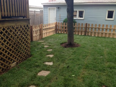 Flagstone Path, Wrigleyville Landscaping
